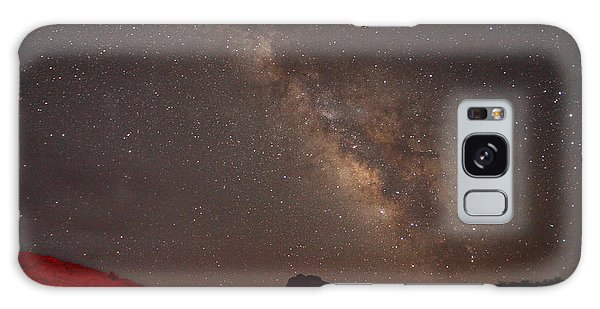 The Milky Way Over Mesa Arch Galaxy Case by Alan Vance Ley