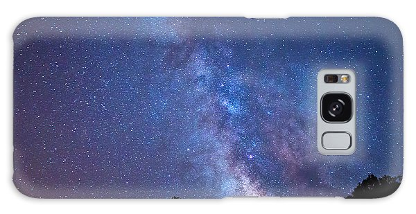 The Milky Way Over The Mountain Galaxy Case