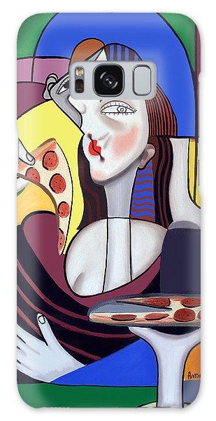 The Mona Pizza Galaxy Case