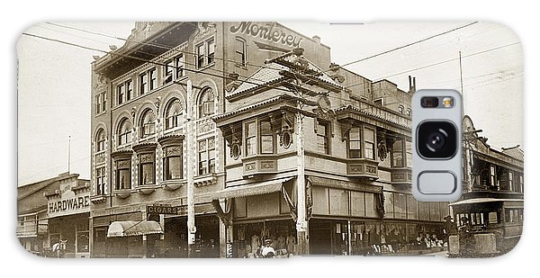 The Monterey Hotel 1904 The Goldstine Block Building 1906 Photo  Galaxy Case