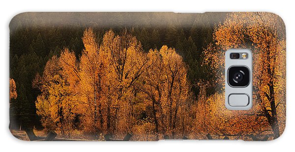 The Mood Of Autumn Galaxy Case