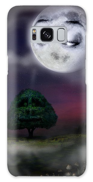 The Moon And The Tree Galaxy Case