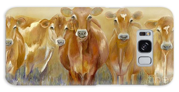 Cow Galaxy Case - The Morning Moo by Catherine Davis