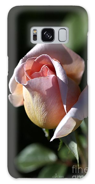 The Morning Pink Rose Galaxy Case