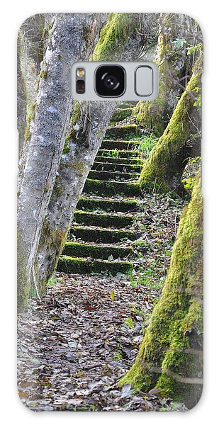 The Moss Stairs Galaxy Case