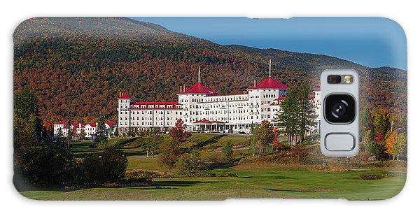 The Mount Washington Hotel In Autumn Galaxy Case
