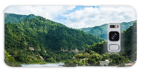 The Mountain Valley Of Rishikesh Galaxy Case