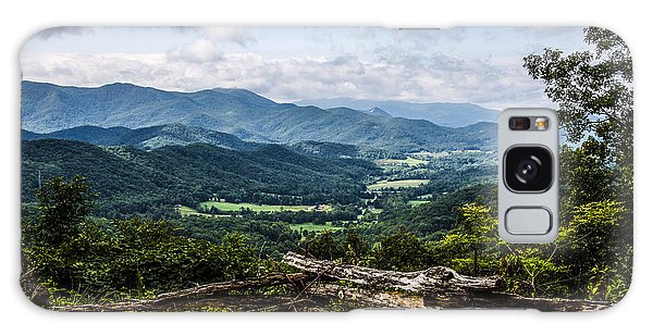 The Mountains Are Calling Galaxy Case by Marilyn Carlyle Greiner
