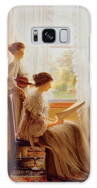 The Music Lesson, C.1890 Galaxy Case by American School