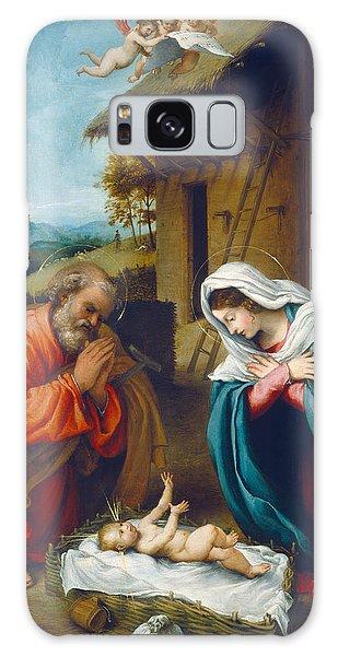 Bethlehem Galaxy Case - The Nativity 1523 by Lorenzo Lotto