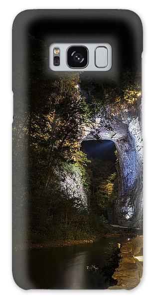 The Natural Bridge At Night  Galaxy Case