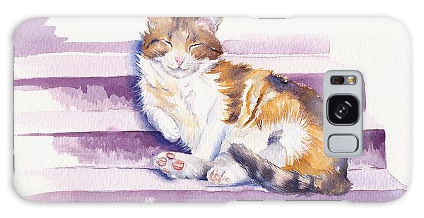 Cat Galaxy Case - The Naughty Step by Debra Hall