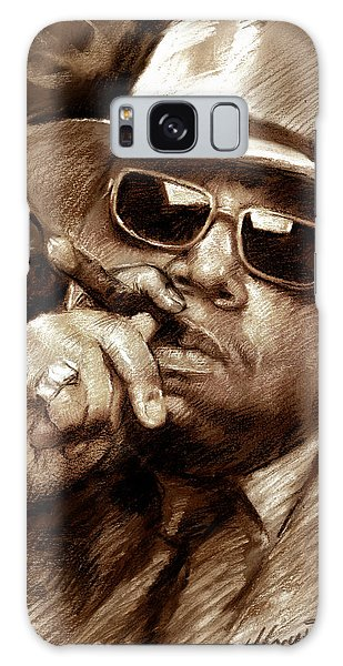 The Notorious B.i.g. Galaxy Case by Viola El