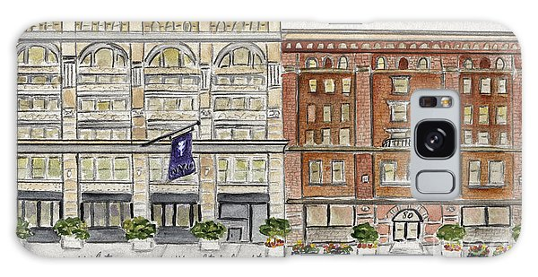 The Nyu Steinhardt Pless Building Galaxy Case by AFineLyne