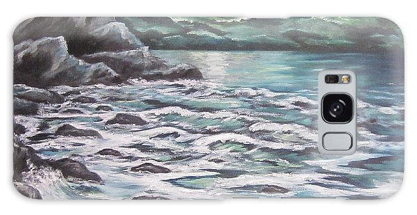 The Ocean Sings The Sky Listens 3 Galaxy Case by Cheryl Pettigrew