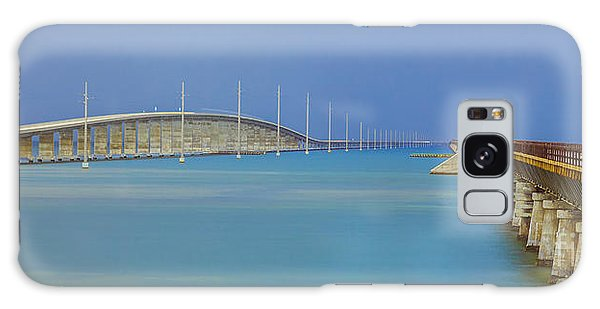 The Old- And New 7 Mile Bridge Galaxy Case