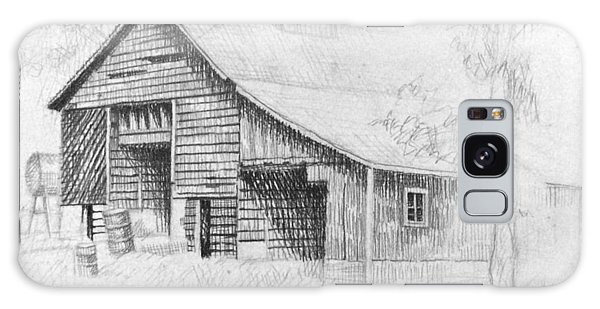 The Old Barn Galaxy Case