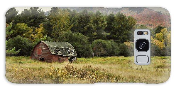 The Old Barn Galaxy Case by Nancy De Flon