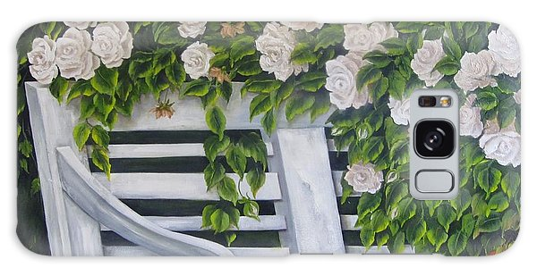 The Old Bench Galaxy Case by Katia Aho