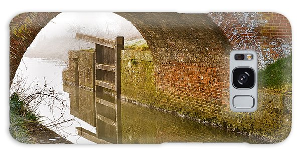 The Old Bridge And Lock Gates Galaxy Case by Trevor Chriss