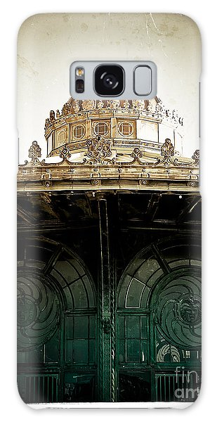 The Old Carousel House Galaxy Case by Colleen Kammerer