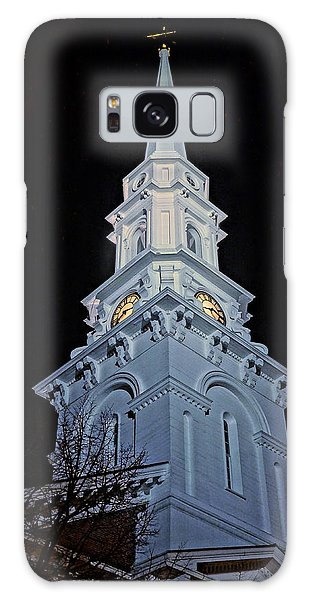 The Old Clock Tower 01 Galaxy Case