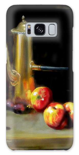 The Old Coffee Pot Galaxy Case by Barry Williamson