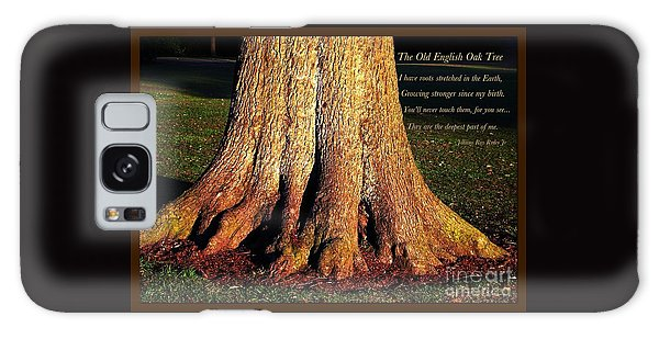 The Old English Oak Tree Galaxy Case