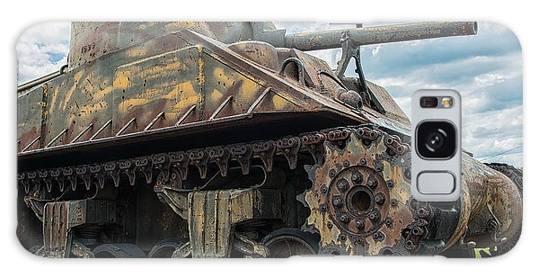 The Old Guardian-sherman Tank Galaxy Case