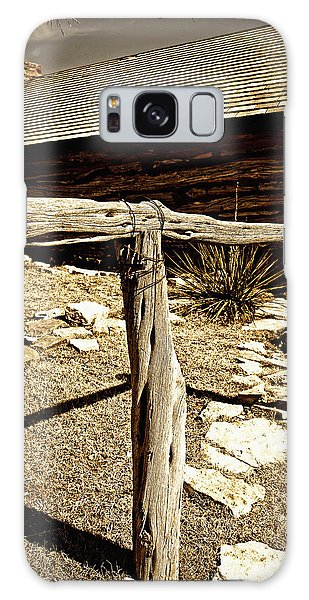 The Old Hitching Post Galaxy Case