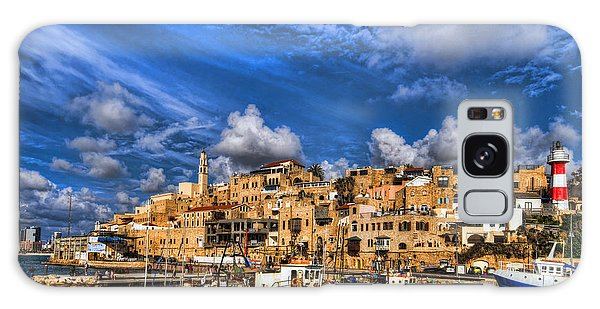 Galaxy Case featuring the photograph the old Jaffa port by Ron Shoshani