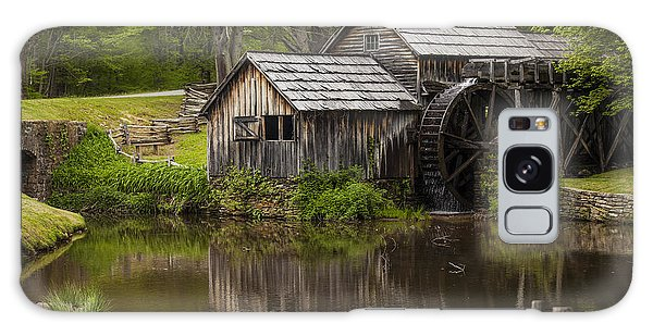 The Old Mill After The Rain Galaxy Case by Amber Kresge