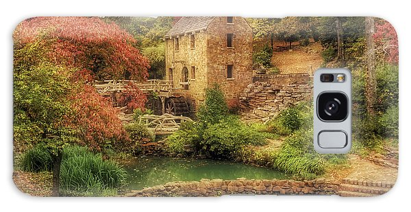 The Old Mill In Autumn - Arkansas - North Little Rock Galaxy Case