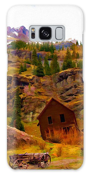 The Old Miners House Galaxy Case