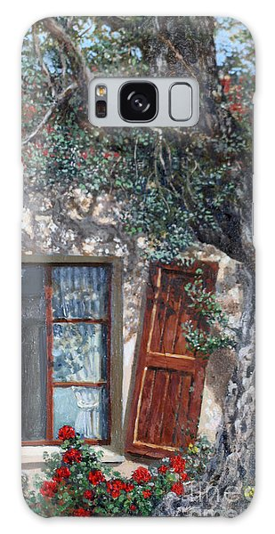 The Old Olive Tree And The Old House Galaxy Case