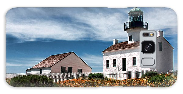 The Old Point Loma Lighthouse By Diana Sainz Galaxy Case
