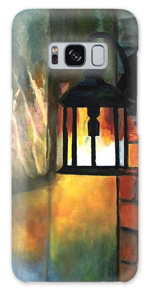 The Old Porch Light Galaxy Case by Lamarr Kramer