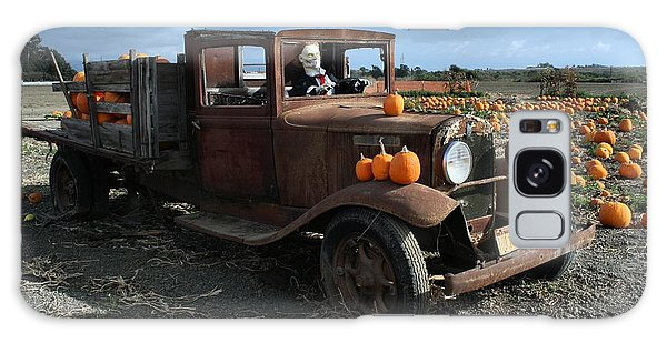 The Old Pumpkin Patch Galaxy Case