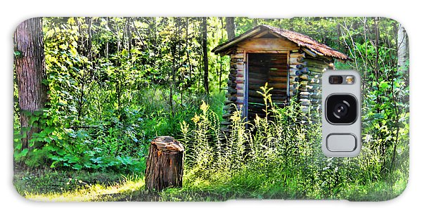 The Old Shed Galaxy Case by Cathy  Beharriell