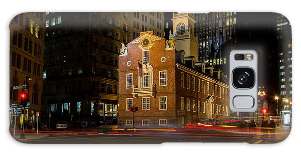 The Old State House Galaxy Case by Sabine Edrissi