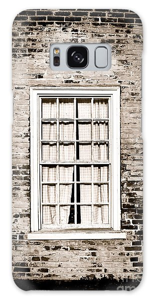 Brick House Galaxy Case - The Old Window by Olivier Le Queinec