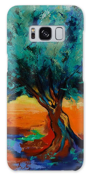 The Olive Trees Dance Galaxy Case