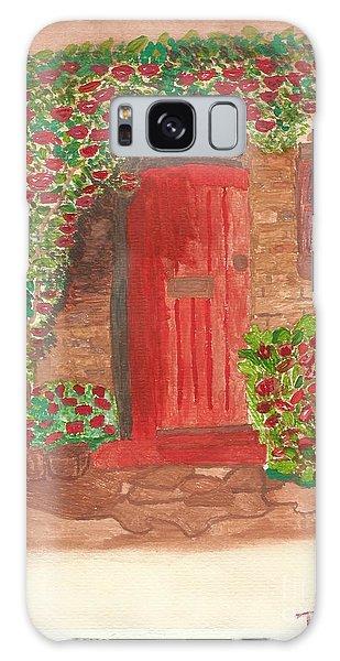 The Orange Door Galaxy Case by Tracey Williams