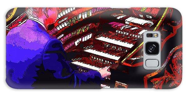 The Organ Player Galaxy Case