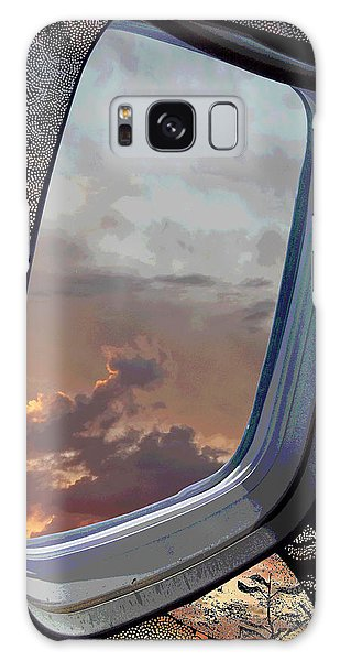 Thought Provoking Galaxy Case - The Other Side Of Natural by Glenn McCarthy Art and Photography