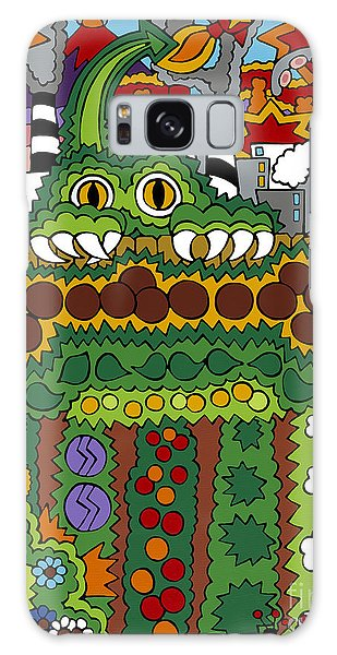 The Other Side Of The Garden  Galaxy Case