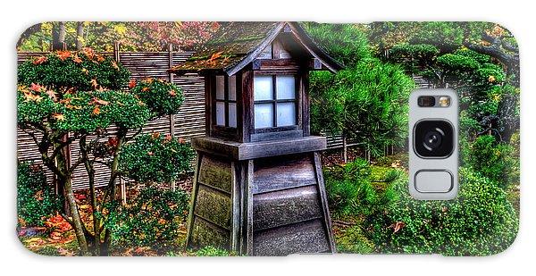 The Pagoda At The Japanese Gardens Galaxy Case by Thom Zehrfeld