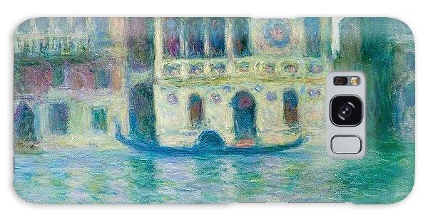 Art Institute Galaxy S8 Case - The Palazzo Dario - Venice by Claude Monet