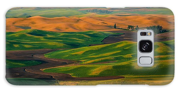 The Palouse Waves Galaxy Case