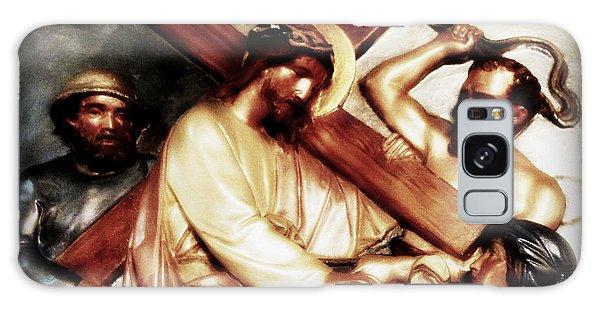 The Passion Of Christ Vii Galaxy Case by Aurelio Zucco